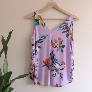 ☀️ Old Navy Floral Tank Top